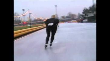 Hoe kun je je schaatstechniek verbeteren Een goede balans