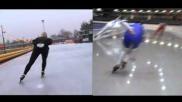 Hoe kun je je schaatstechniek verbeteren De bijhaal