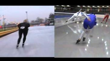 Hoe kun je je schaatstechniek verbeteren De afzet