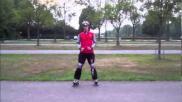 Hoe kun je remmen op je inline skates Basistechniek