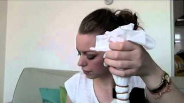 Hoe kun je een tube sjaal colsjaal zelf maken en verven